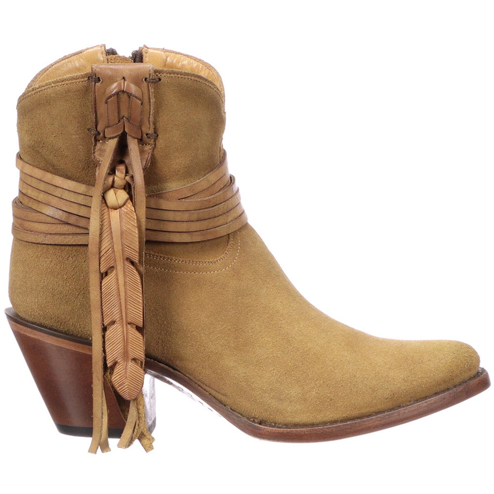 SHOEBACCA – Lucchese Robyn Suede Booties