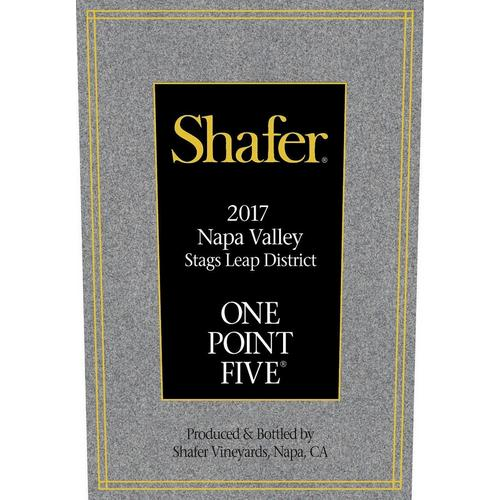 Wine Express – Shafer 2017 One Point Five, Cabernet Sauvignon, Stags Leap District, Napa Valley