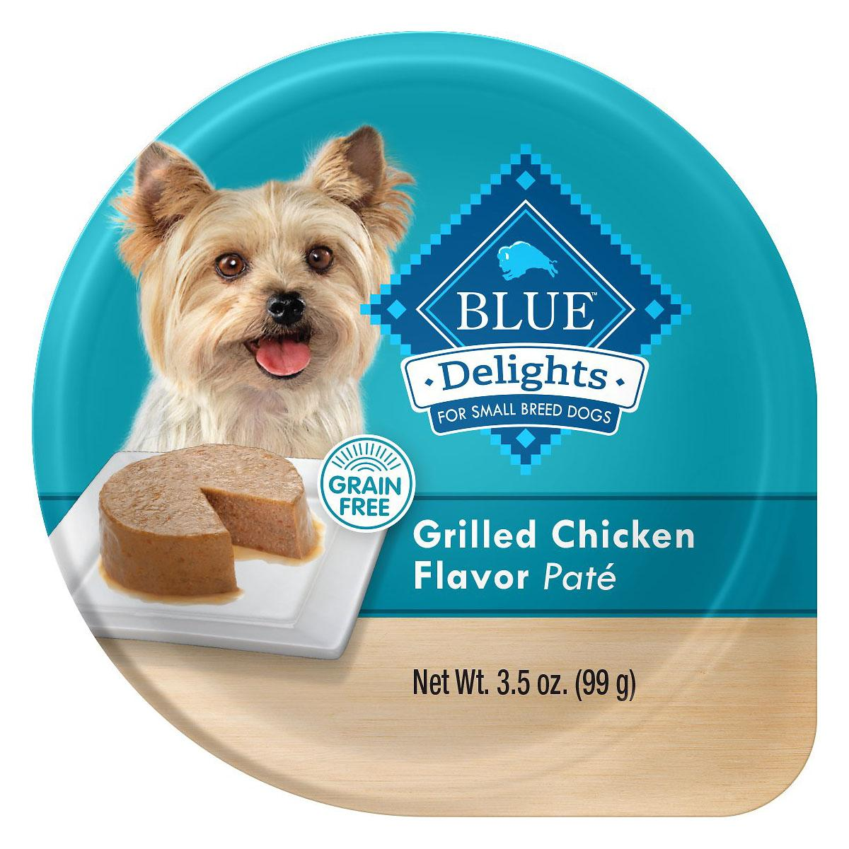 BaxterBoo – Blue Buffalo Divine Delights Small Breed Dog Food – Grilled Chicken