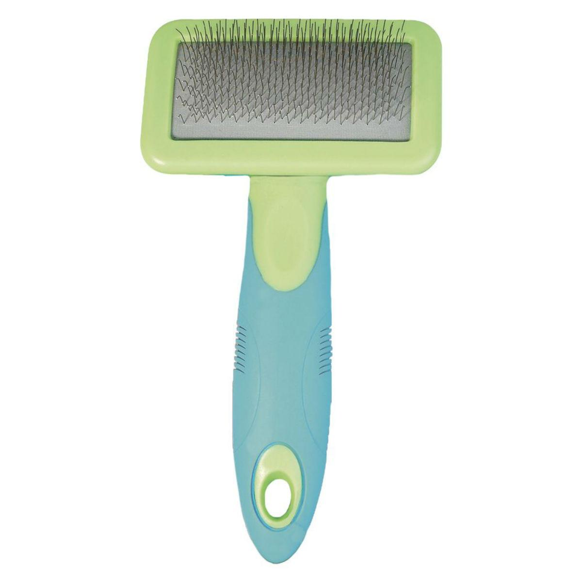 BaxterBoo – U-Groom Slicker Brush for Dogs and Cats
