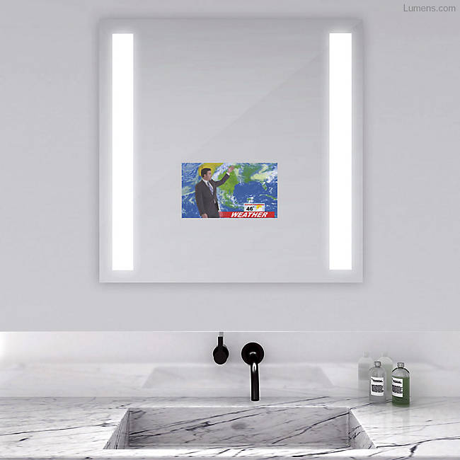 Lumens – Fusion Lighted Mirror with Television