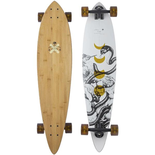 The House – Arbor Fish Bamboo Longboard Complete