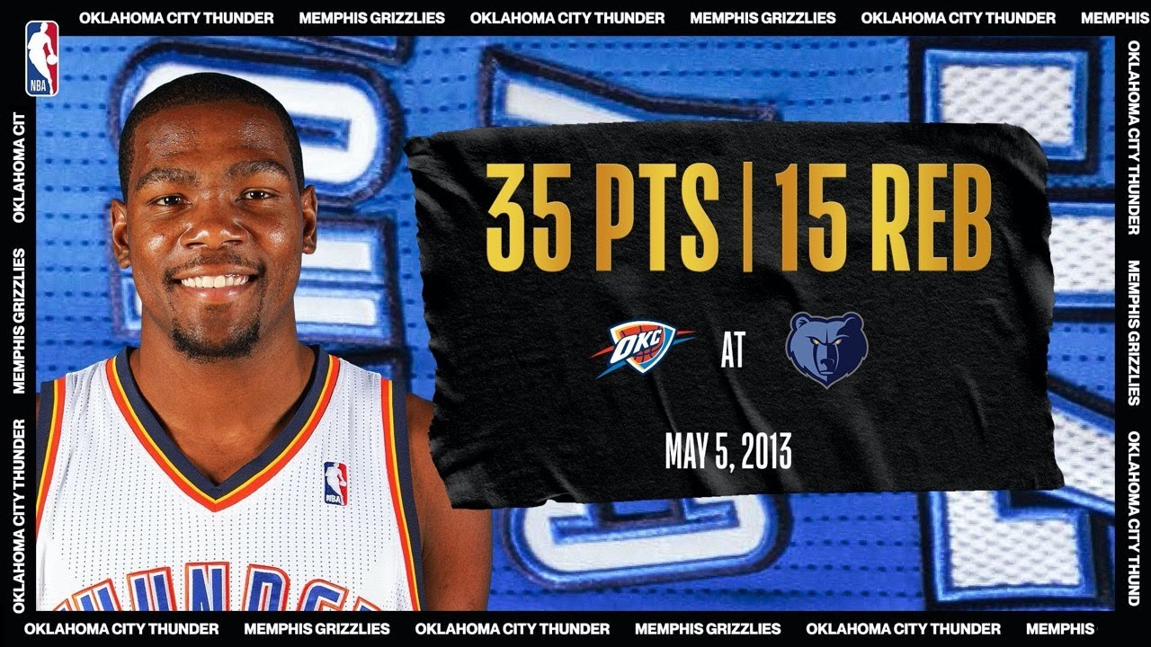 KD Calls Game In CLUTCH Playoff Performance