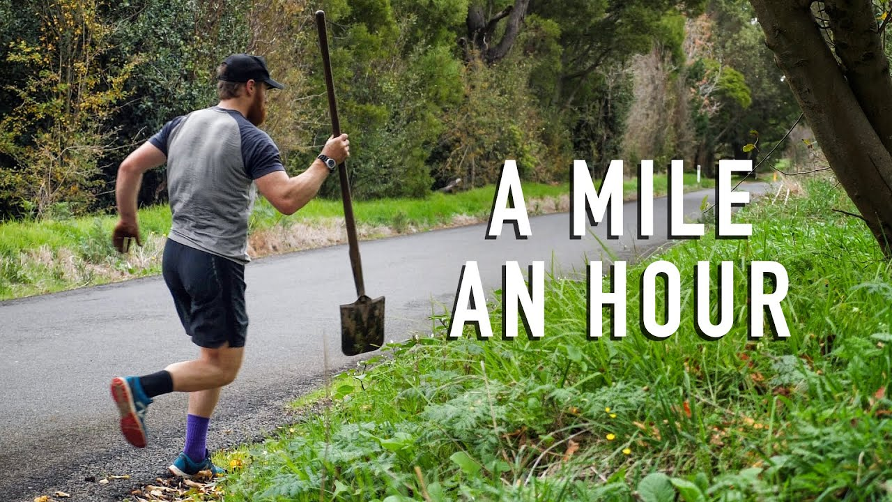 A Mile an Hour – Running a different kind of marathon