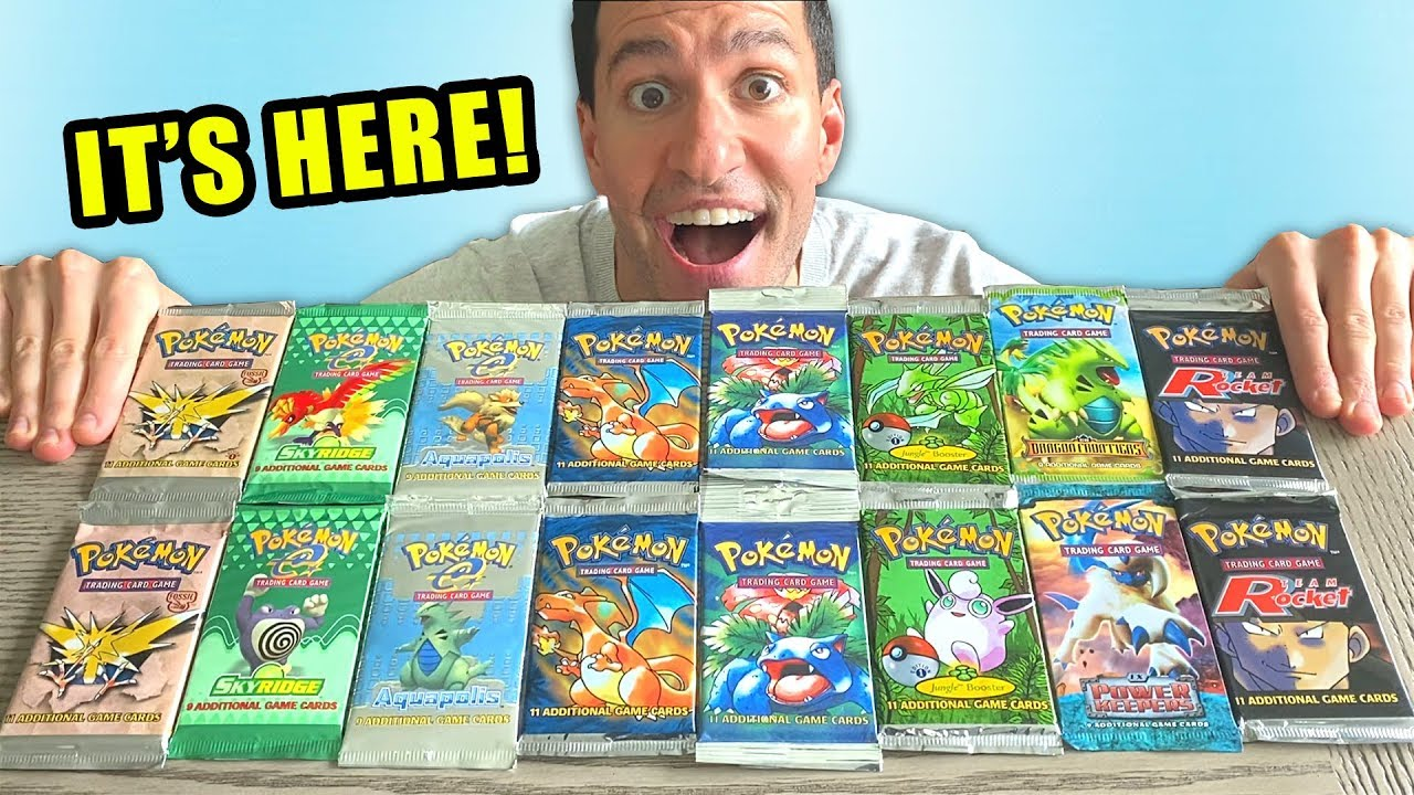 *THE 00 POKEMON CARDS OPENING!* Rarest Booster Packs!