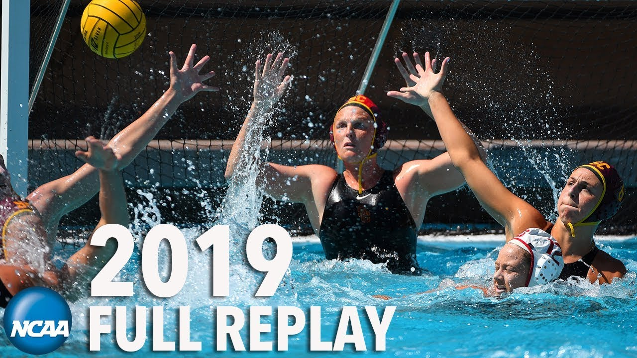 2019 women's NCAA Water Polo Championship: Stanford v. USC