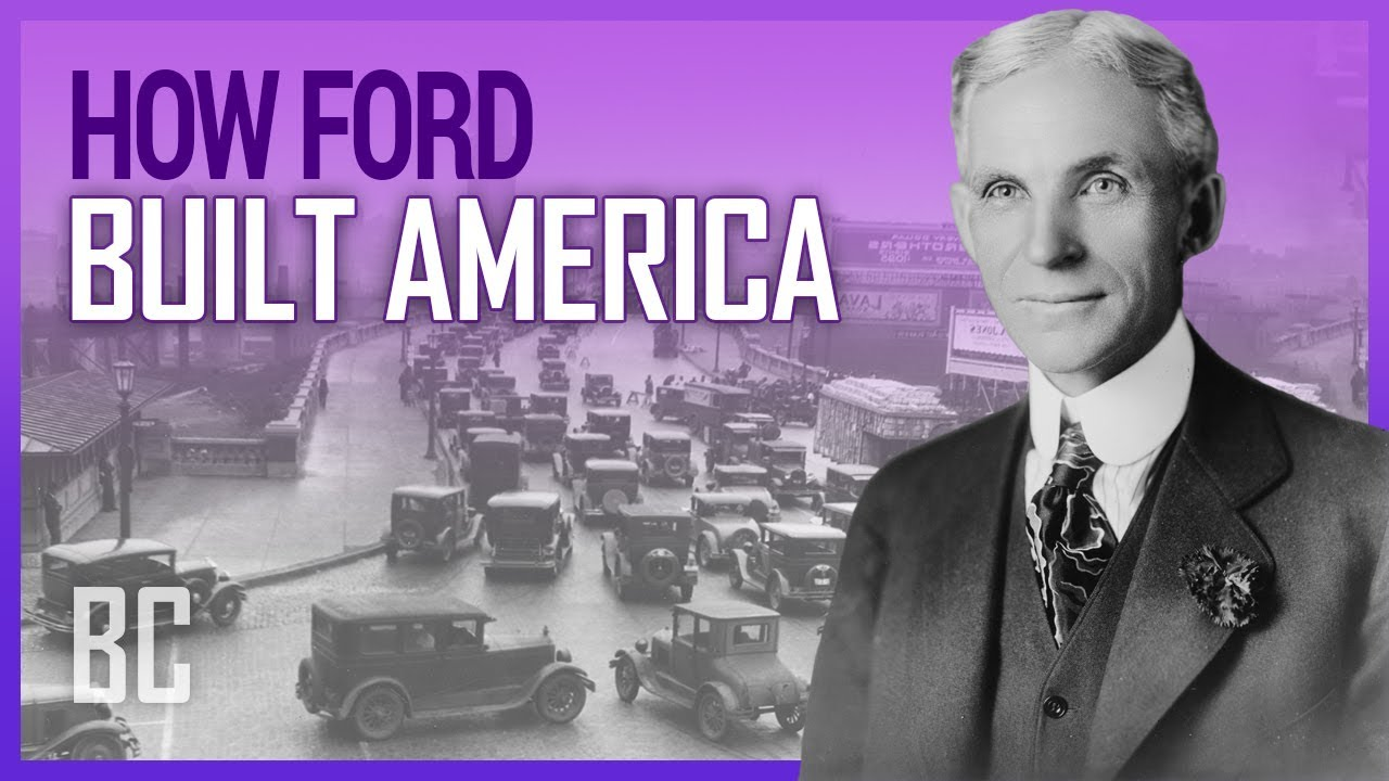 How Ford Built America – The Man Behind The Automobile