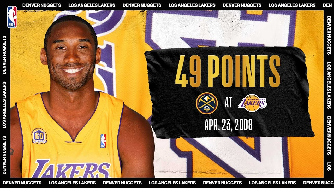 Kobe's 49 PTS Leads Lakers To Game 2 W