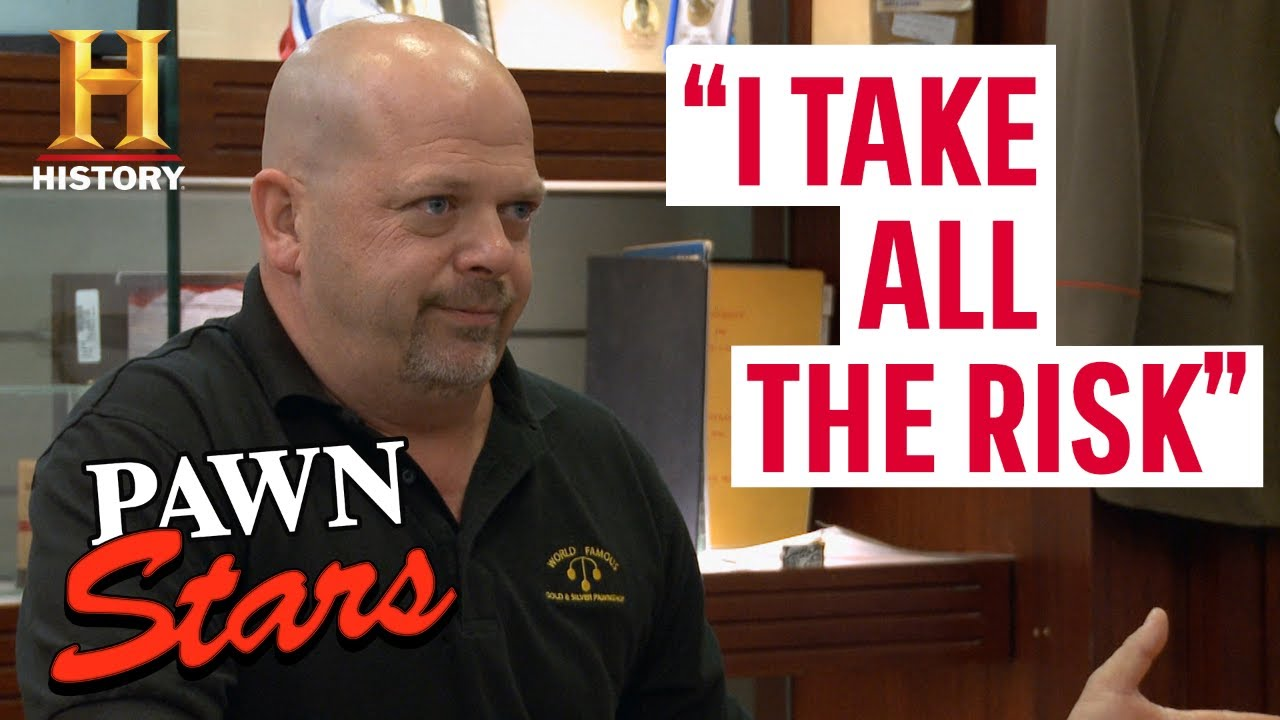 Pawn Stars: RISKING IT ALL FOR BIG MONEY (9 Risky $$$ Deals)