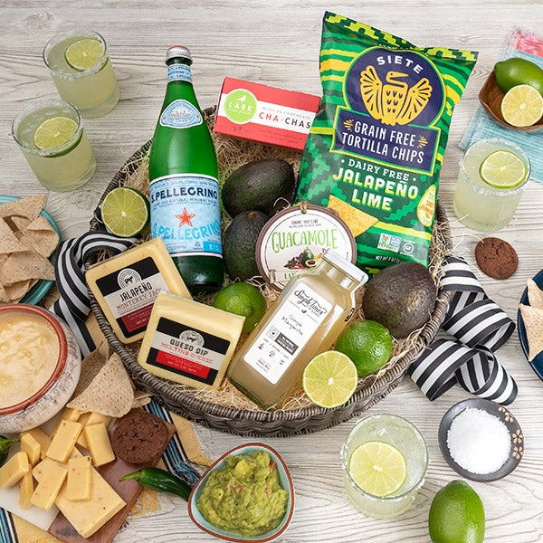 Gourmet Gift Baskets – Chippin' Dippin' And Margarita Sippin'