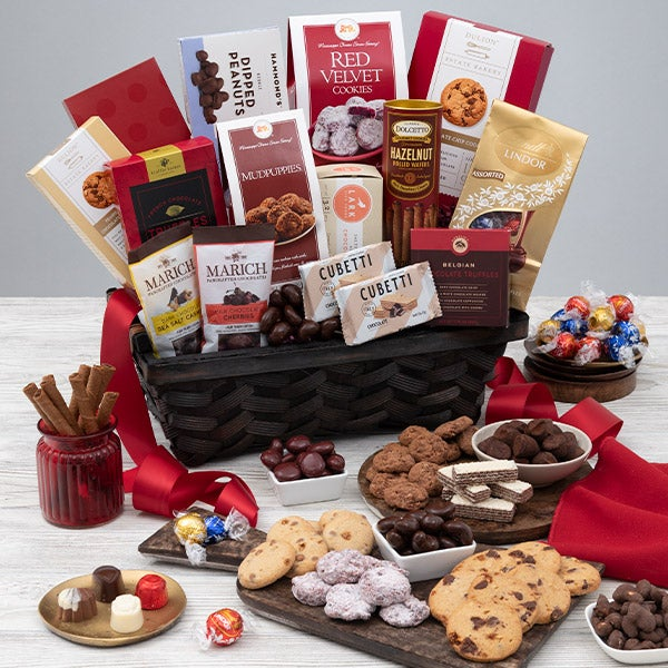 Gourmet Gift Baskets – Chocolates for Valentine's Day Gift Basket