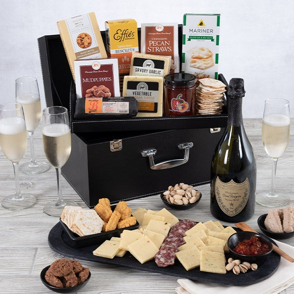 Gourmet Gift Baskets – Ultimate Dom Perignon Gift