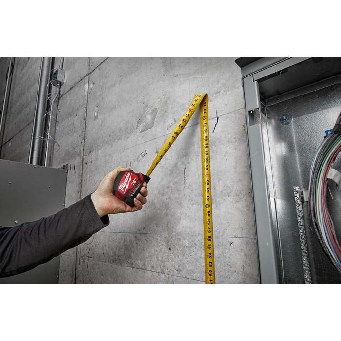 The Tool Nut – Milwaukee 48-22-0225M 25-Foot Wide Blade Magnetic Tape Measure