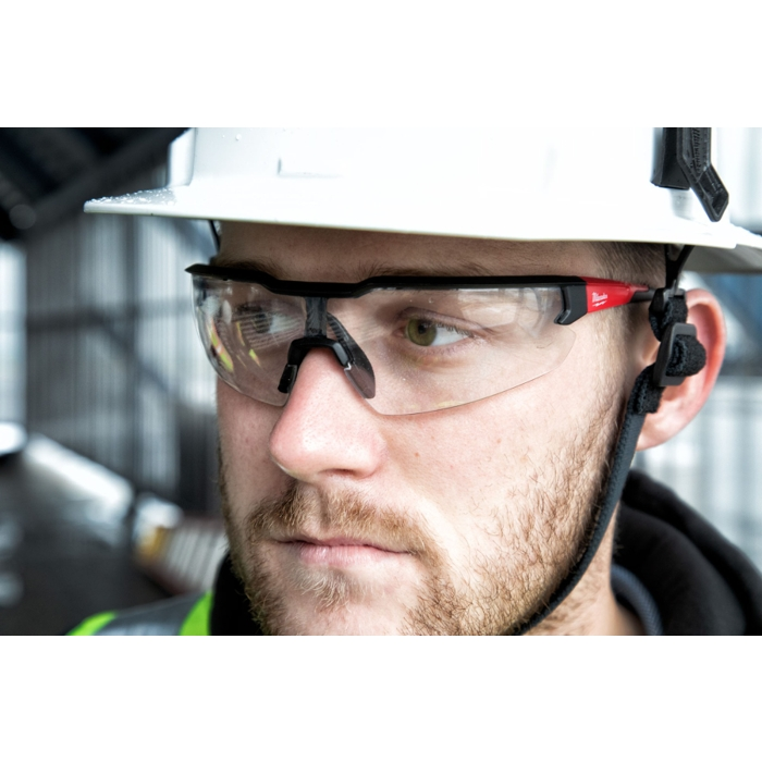 The Tool Nut – Milwaukee 48-73-2013 Safety Glasses with Clear Fog-Free Lenses, Polybag