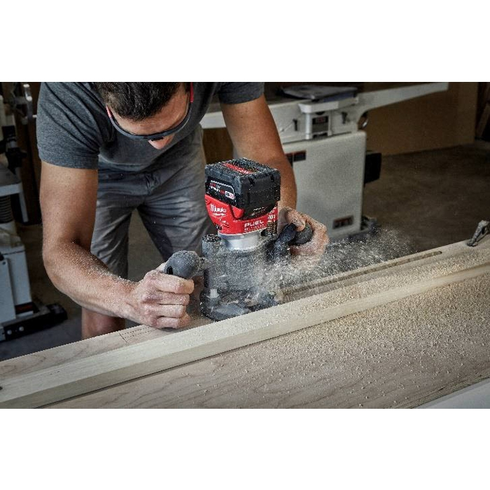 The Tool Nut – Milwaukee 2723-20 M18 FUEL Brushless Compact Router, Tool Only